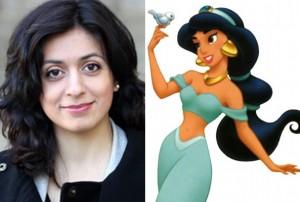 Hadia Tajik og prinsessen fra Aladdin