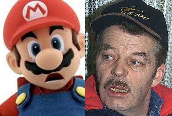 Martin Schanche og Super Mario