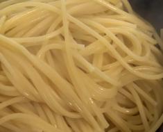 Kok spaghetti på riktig måte