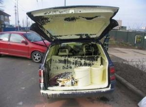 Transport av maling