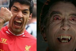 Luis Suarez eller Dracula?