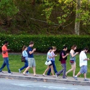 Ut på tur, aldri sur - så lenge mobiltelefonen er med