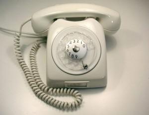Hvor lang tid det kunne ta å slå et telefonnummer