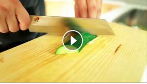 Hvordan skjære agurk pent