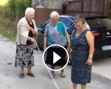 Sporty eldre damer